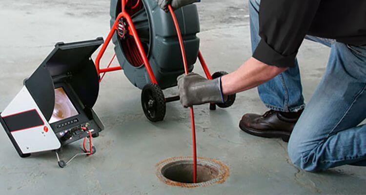 Monitoring potrubia kanalizácie